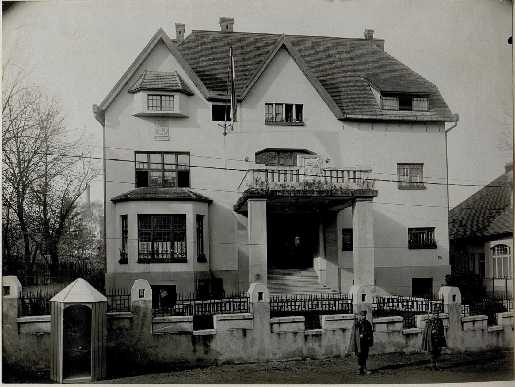 Erzherzogl.Quartier in Koloszvar. 28.10.16.