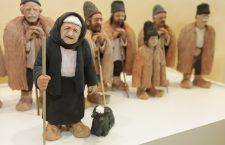 Figurine reprezentând țărani români, parte a unei expoziții organizate la sediul Comisiei Europene din Bruxelles, de Paști, 2012   Foto: Comisia Europeană