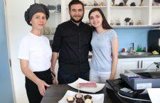 Iuliana Varga, Tudor Varga și Corina Rus/ Foto: Dan Bodea