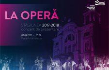 La operă, sub clar de lună, concertul de prezentare a stagiunii 2017-2018