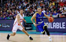 Andrei Mandache a fost eroul ultimei seri de Eurobasket la Cluj-Napoca (FOTO: Dan Bodea)