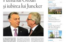 Nu rataţi noul număr Transilvania Reporter: Pizma lui Orbán şi iubirea lui Juncker