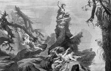 Scena 1 din Das Rheingold din cadrul Bayreuth Festival, 1876