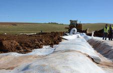 Ecologizarea fostei gropi de gunoi de la Huedin, aproape de finalizare