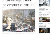"""Nu ratați noul număr Transilvania Reporter """"Ambuteiaj de idei pe centura viitorului"""""""