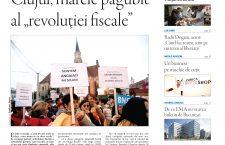 """Nu ratați noul număr Transilvania Reporter: Clujul, marele păgubit al """"revoluției fiscale"""""""