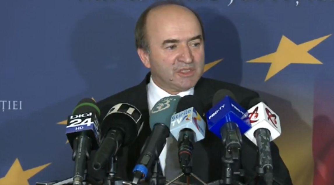Tudorel Toader în timpul declarațiilor de miercuri | Foto: Captură video ProTV