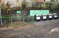 S-a deschis prima platformă subterană pentru colectarea deşeurilor din Mănăştur