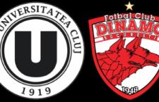 """""""U"""" Cluj – Dinamo, în optimile Cupei României"""
