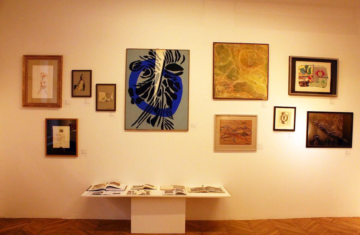 În centru, lucrarea lui Vasile POP-SILAGHI/Înălțare (1971)