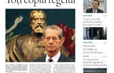"""Nu ratați noul număr Transilvania Reporter: """"Toți copiii regelui"""""""