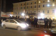 Un nou miting la Cluj, cu 200 de persoane