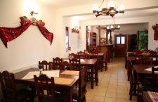 Restaurantul din cadrul hanului/ Foto: Dan Bodea