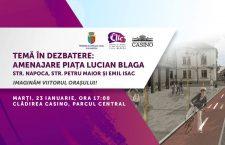 Dezbatere publică pentru reamenajarea zonei Piaţa Lucian Blaga