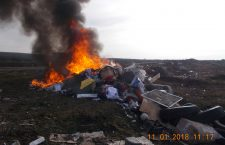 Un clujean, amendat cu 6.000 de lei pentru că a dat foc la gunoaie
