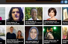 """Forbes 30 Under 30. Florin Bădiţă, fondatorul """"Corupţia ucide"""", unul dintre cei mai influenţi tineri din Europa"""