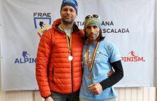 Doi salvamontiști clujeni, pe podium la Campionatul Național de Schi-Alpinism