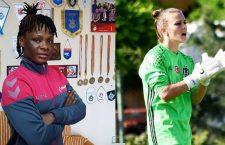 Priscilla Hagan și Ekaterina Ulasevich, ultimele noutăți de la Olimpia Cluj (sursa foto: olimpiacluj.ro)