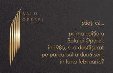 Știați că … Prima ediție a Balului Operei, în 1985, s-a desfășurat pe parcursul a două seri, în luna februarie?