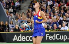Irina Begu a adus punctul calificării echipei de Fed Cup a României, în disputa cu Canada și va juca barajul pentru promovarea în Grupa Mondială I / Foto: Dan Bodea
