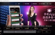 După trei-patru click-uri pe site-ul CJ Cluj, utilizatorul este redirecționat către un site chinezesc
