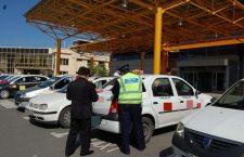 Razie printre taximetriști. S-au aplicat amenzi de peste 10.000 de lei