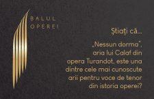 """Știați că … """"Nessun dorma"""", aria lui Calaf din opera Turandot, una dintre cele mai cunoscute arii pentru voce de tenordin istoria operei?"""