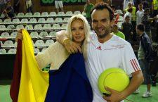 Batman și Robin, în variantă românească. Florin și Daiana fac echipă la toate turneele, iar colaborarea lor este un succes din toate punctele de vedere (Foto: Daniel Rus)