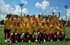 Olimpia Cluj va sărbători, peste câteva etape, cucerirea celui de-al optulea titlu consecutiv de campioană a României / Foto Dan Bodea