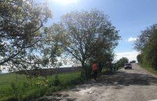 Drumul județean 150 Viișoara – Frata – Crişeni – Mociu a intrat în reparații