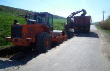 Se asfaltează drumul județean Apahida – Cojocna
