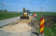 Se lucrează pe drumul judeţean 108C (DN 1) – Ardeova
