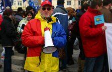 Sindicaliștii din Sănătate protestează la București, nemulțumiți de modificările salariale