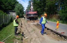 Reparații pe drumul județean Gilău – Someşu Rece – Mărişel – DN 1R
