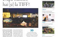 Nu rataţi noul număr Transilvania Reporter: După Cannes, hai (și) la TIFF!