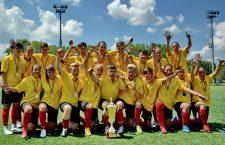 Olimpia Cluj, campioana națională la fotbal feminin, este una dintre cele mai galonate echipe de jocuri sportive din România ultimului deceniu, cu 14 trofee cucerite – 8 campionate și 6 cupe ale României / Foto: Dan Bodea