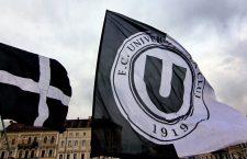"""Echipele de fotbal, baschet masculin și fotbal feminin (""""U, U-BT și Olimpia) poartă aceeași siglă pe piept - FC Universitatea Cluj / Foto: Dan Bodea"""
