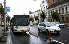 Primăria pregătește extinderea benzilor dedicate pentru autobuze