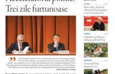 Nu ratați noul număr Transilvania Reporter: Acceleratorul politic. Trei zile furtunoase