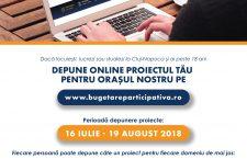 A doua ediție a proiectului de Bugetare participativă
