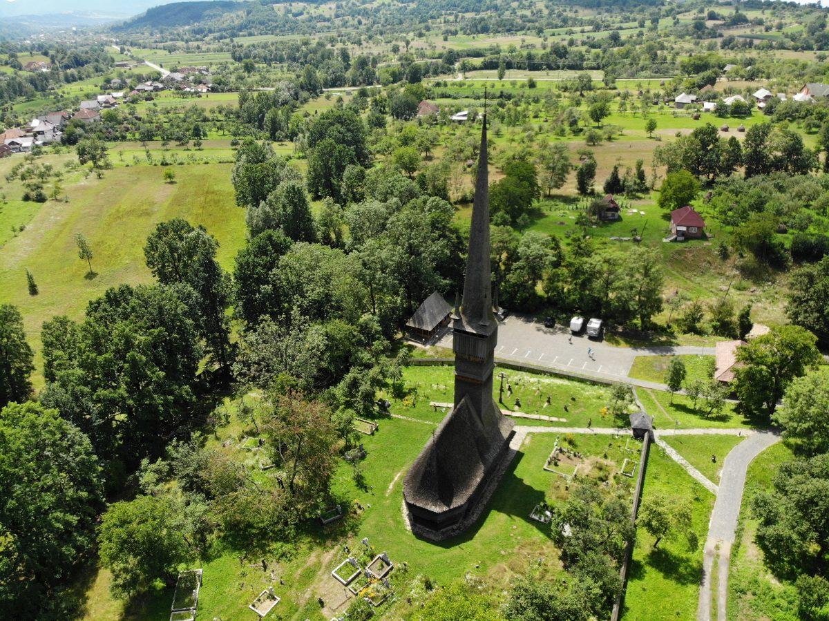 Biserica de lemn din Șurdești/Foto: Cristina Beligăr