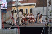 """Festivalul internațional de folclor """"Serbările Transilvane"""" a umplut Piața Unirii"""