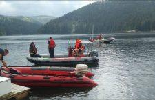 ISU Cluj continuă căutările în cazul șefului APIA Cluj, dispărut pe lacul Beliș