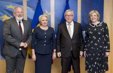 Jean-Claude Juncker, Viorica Dăncilă