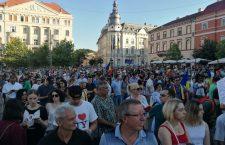 Un nou protest la Cluj