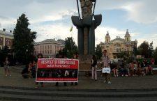 Protest pentru drepturile animalelor