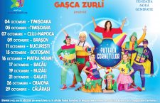 "Gașca Zurli aduce ""Puterea Cornetelor"" la Cluj-Napoca"