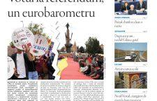 Nu rataţi noul număr din Transilvania Reporter: Votul la referendum, un eurobarometru