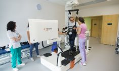 Recuperare robotizată la Cluj-Napoca