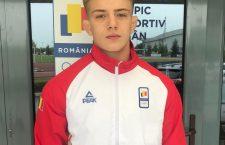 Adrian Șulcă este primul campion olimpic de tineret din istoria sportului clujean / Foto u-cluj.ro